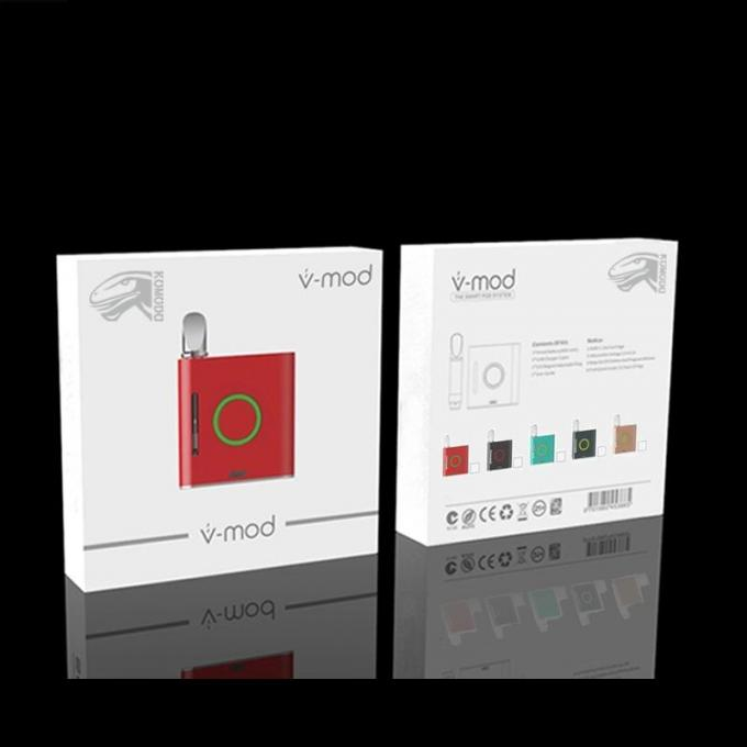 900mAh Variable Voltage Vmod Vape Battery Box Mod Kit Preheat Battery With 510 Magnetic Thread