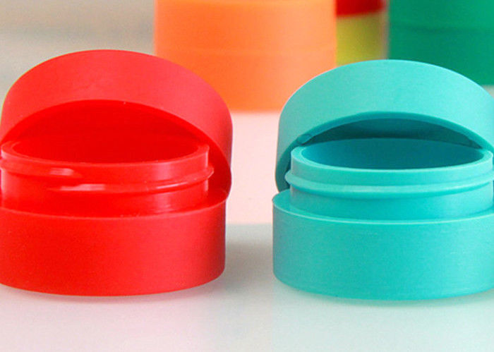Food Grade Silicone Wax Container , Colorful Oil Pen
