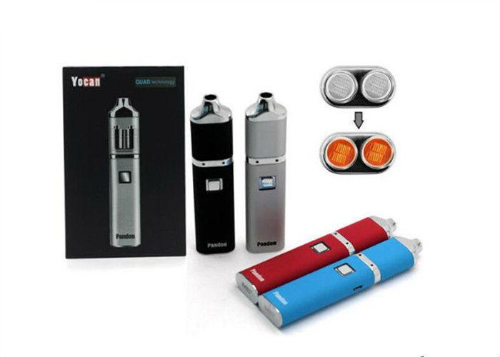 Oil Wax Vaporizer Portable Dab Pen Battery Powered Quartz Coil Rods
