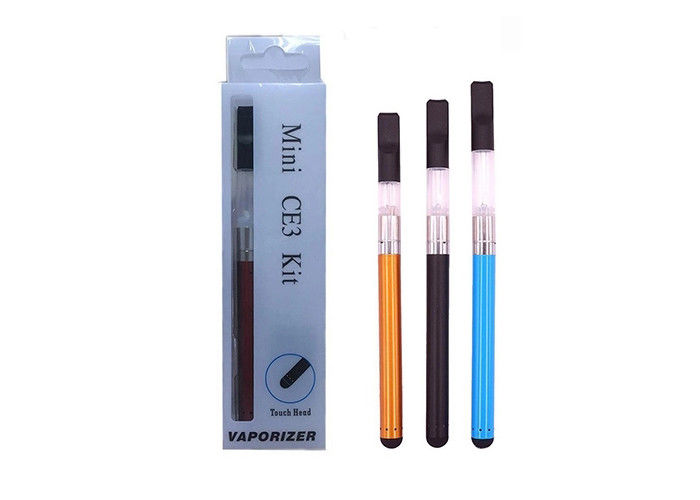 Mini CE3 Vape Kit Electric Smoke Pen 510 Thread Bud Touch For CBD THC