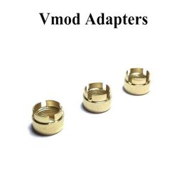 Golden Vmod Magnetic Adapter Ring Replacement Connector For 510 Thread Vaporizer Cartridges